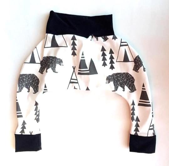 Teepee Bear Harem Joggers:  The Little Moore Shop