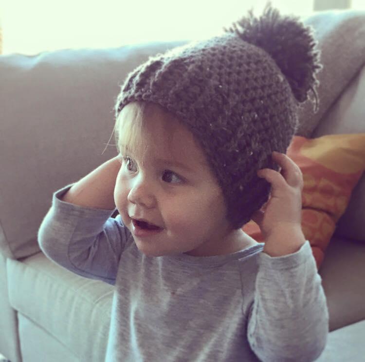 How cute is little Sophie ( @millerstephie ) wearing  Lynn Steven ?!