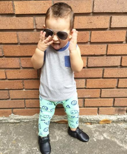 @liam.a.nunez Rocking his  Zara Kids  tank and leggings.