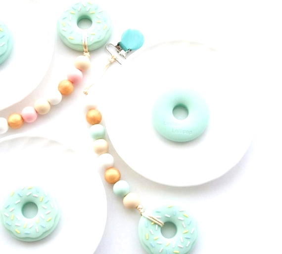 Louloulollipop Donut Teether