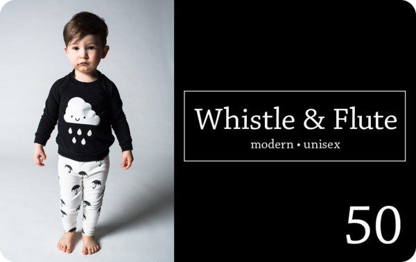 Whistle and Flute Gift Card