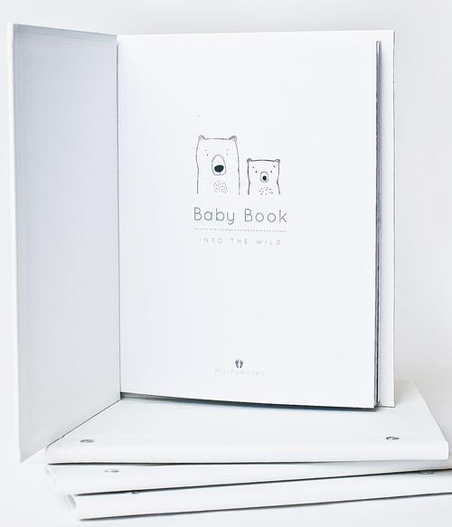 Mushybooks Into the Wild Baby Book