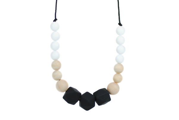 Glitter and Spice Addison Solocone Teething Necklace
