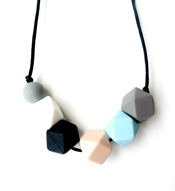 Louloulollipop Ethan Silocone Teething Necklace