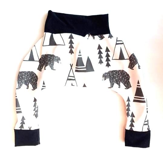 The Little Moore Shop Polar Bear Harem Pants