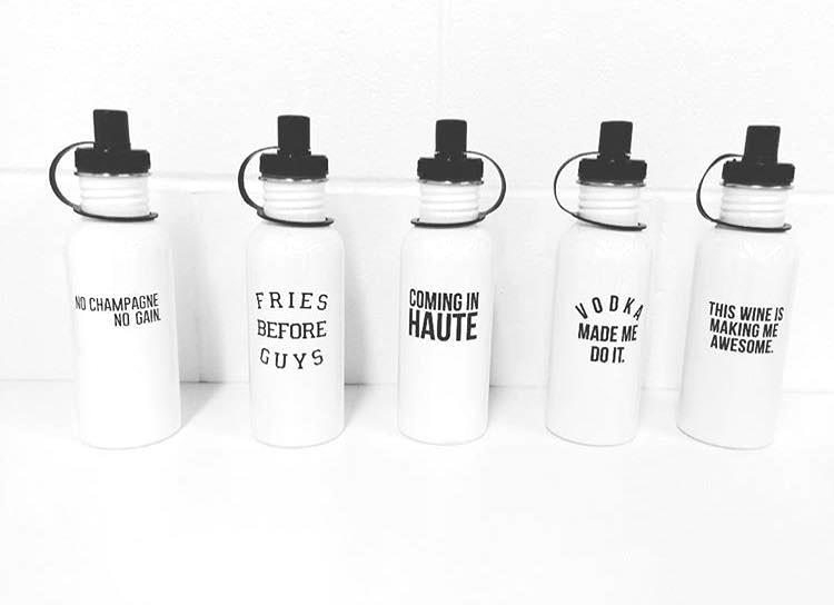 BITNB Clothing Water Bottles