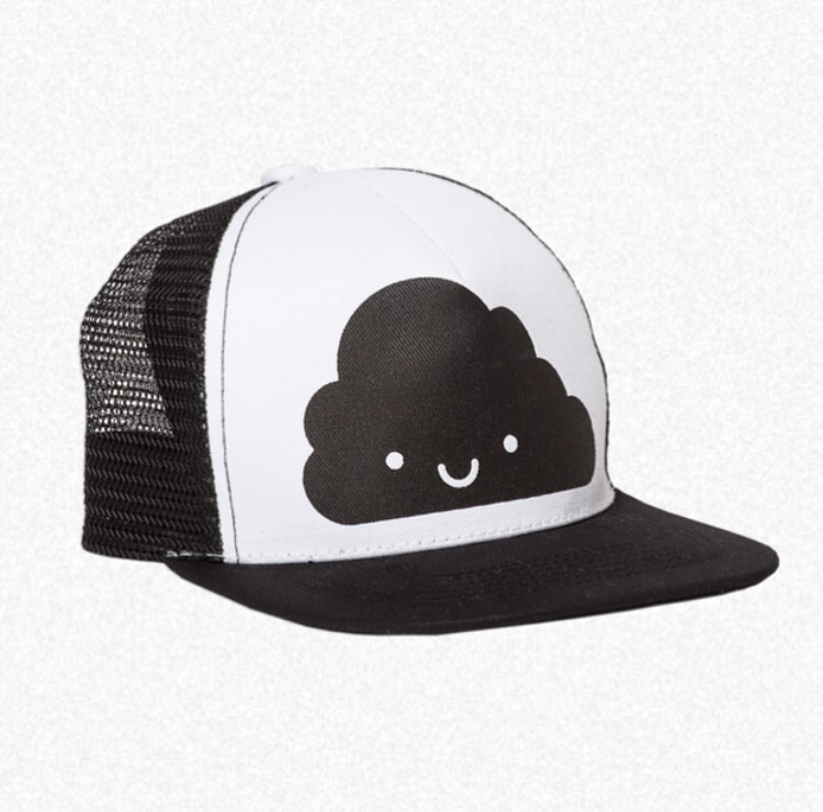 "Whistle and Flute  ""Kawaii Cloud"" Trucker Hat"