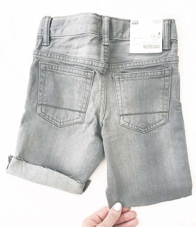 Leave a half inch extra if you want to cuff them at the bottom.