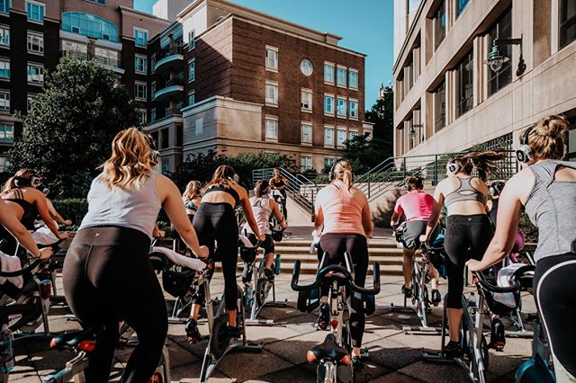 Tonight is our last Sun Down, Wine Down for the summer 😢⁣⠀ ⁣⠀ But don't worry, we have some exciting rides for you in the works 😉⁣⠀ Until then, grab a friend and book a bike for tonight's 5:45pm and 6:45pm rides!⁣⠀ ⁣⠀ Psst: Don't miss Krystle's Ludacris Takeover ride this Thursday or our Bike to Brunch with Stafford this Saturday!🎉⁣