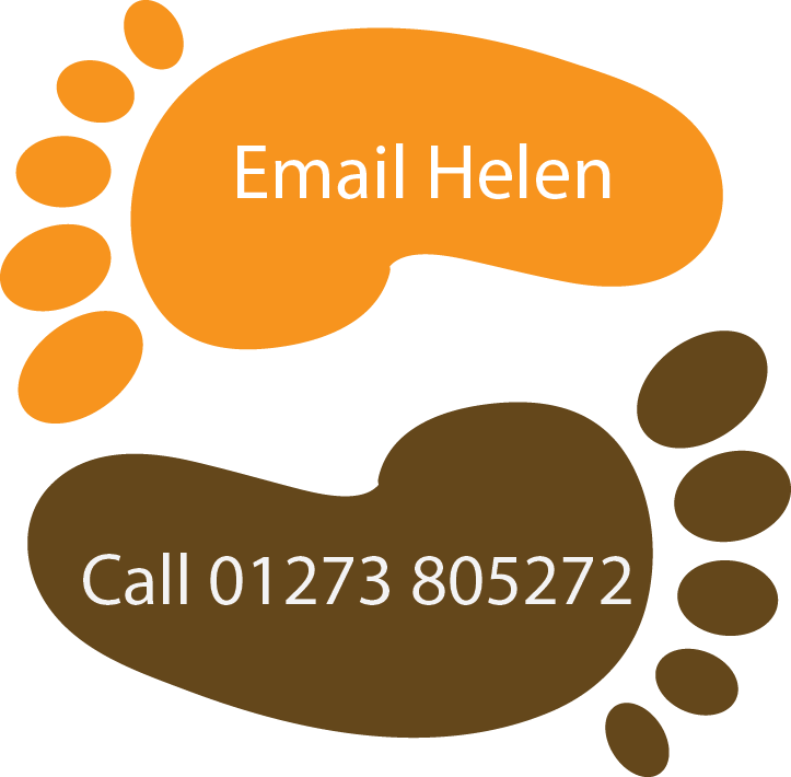 Email Helen O'Rourke at Fitness for Feet button