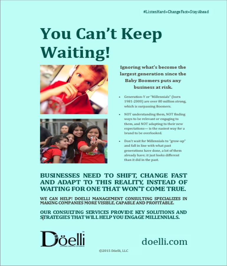 Doelli Management Consulting Gen Y Promo