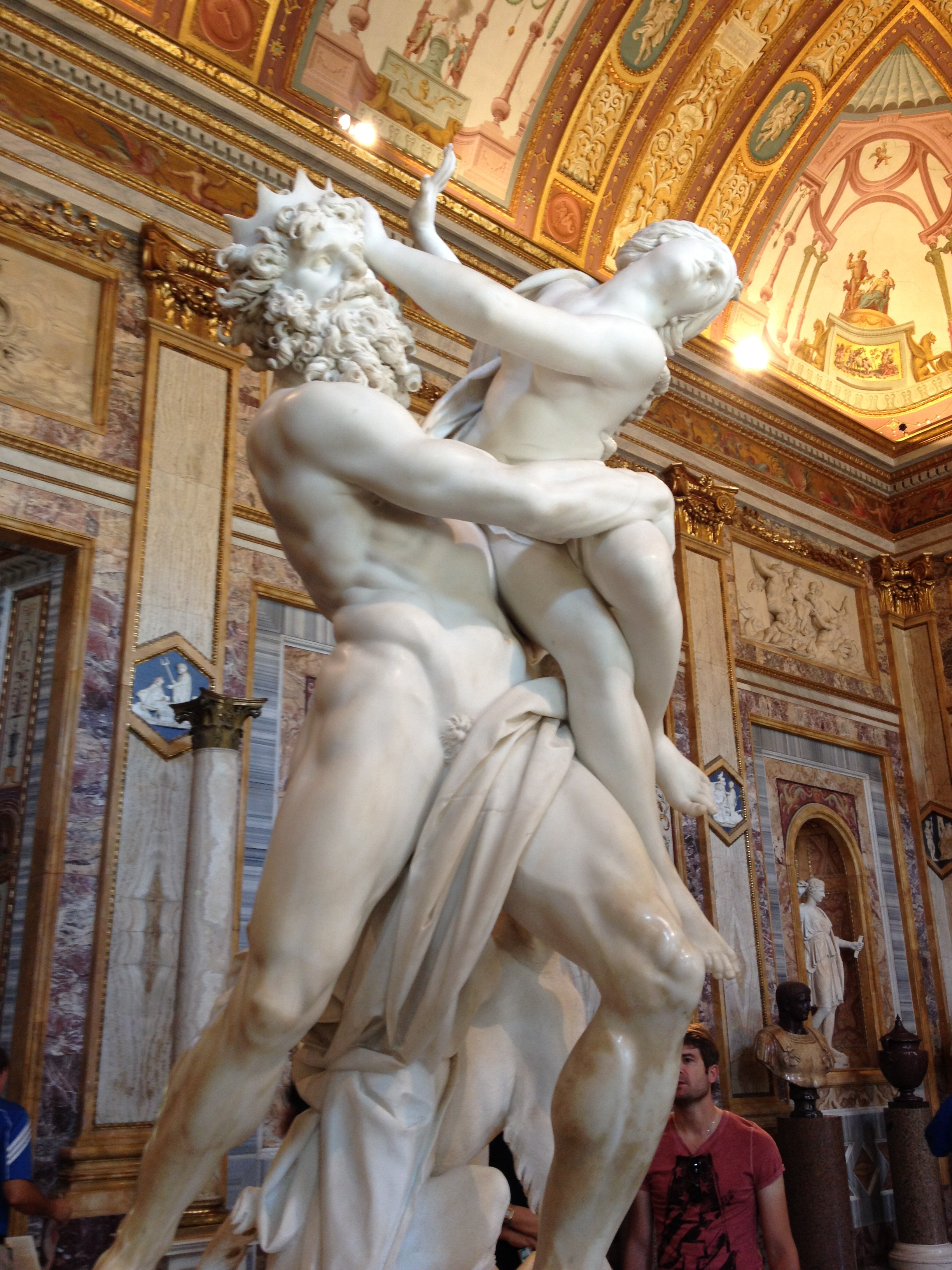 Dan Brown's Picture of Bernini's Pluto and Persephone