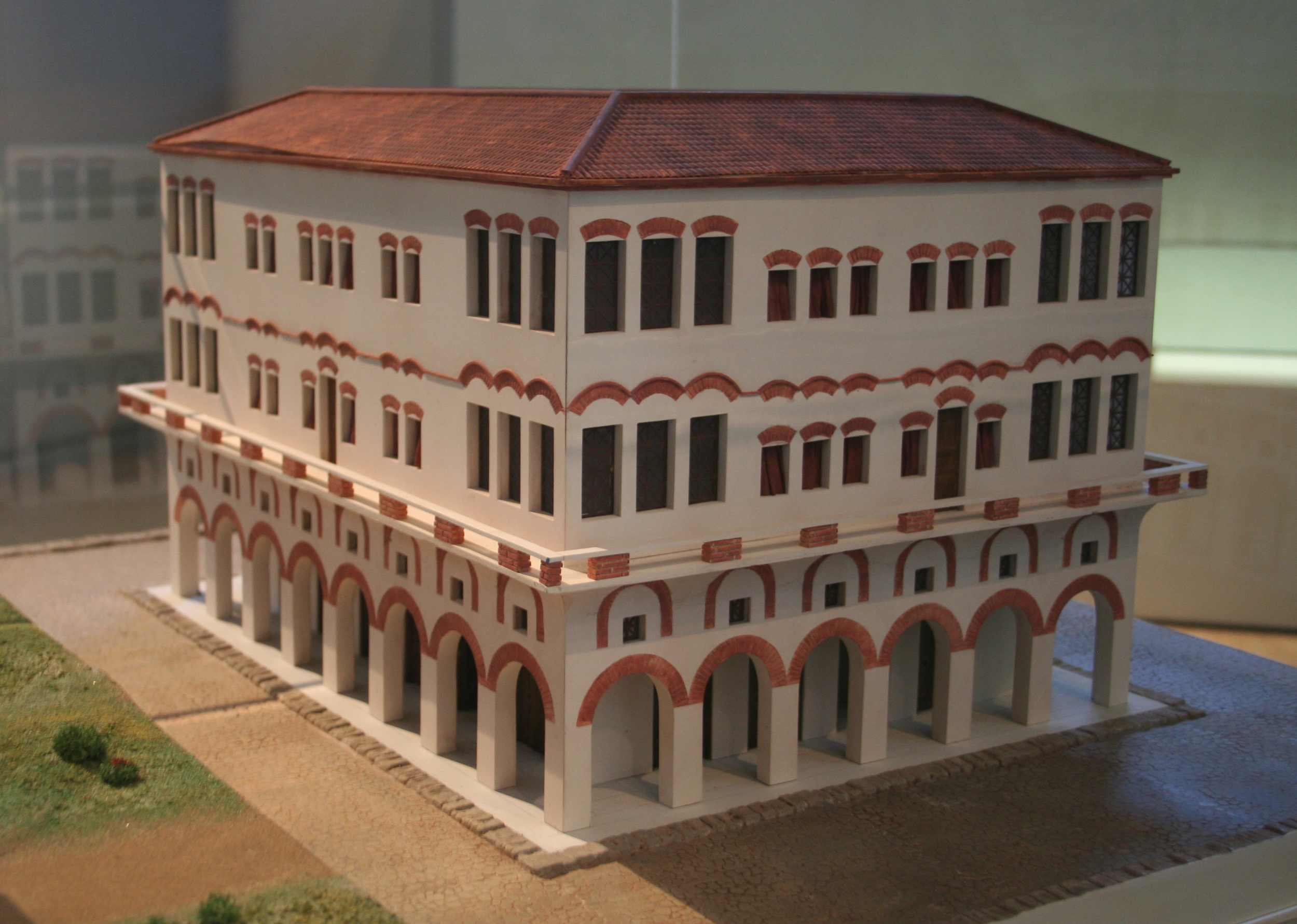 Roman Insula Rome Reconstruction Cypta Baldi.jpg