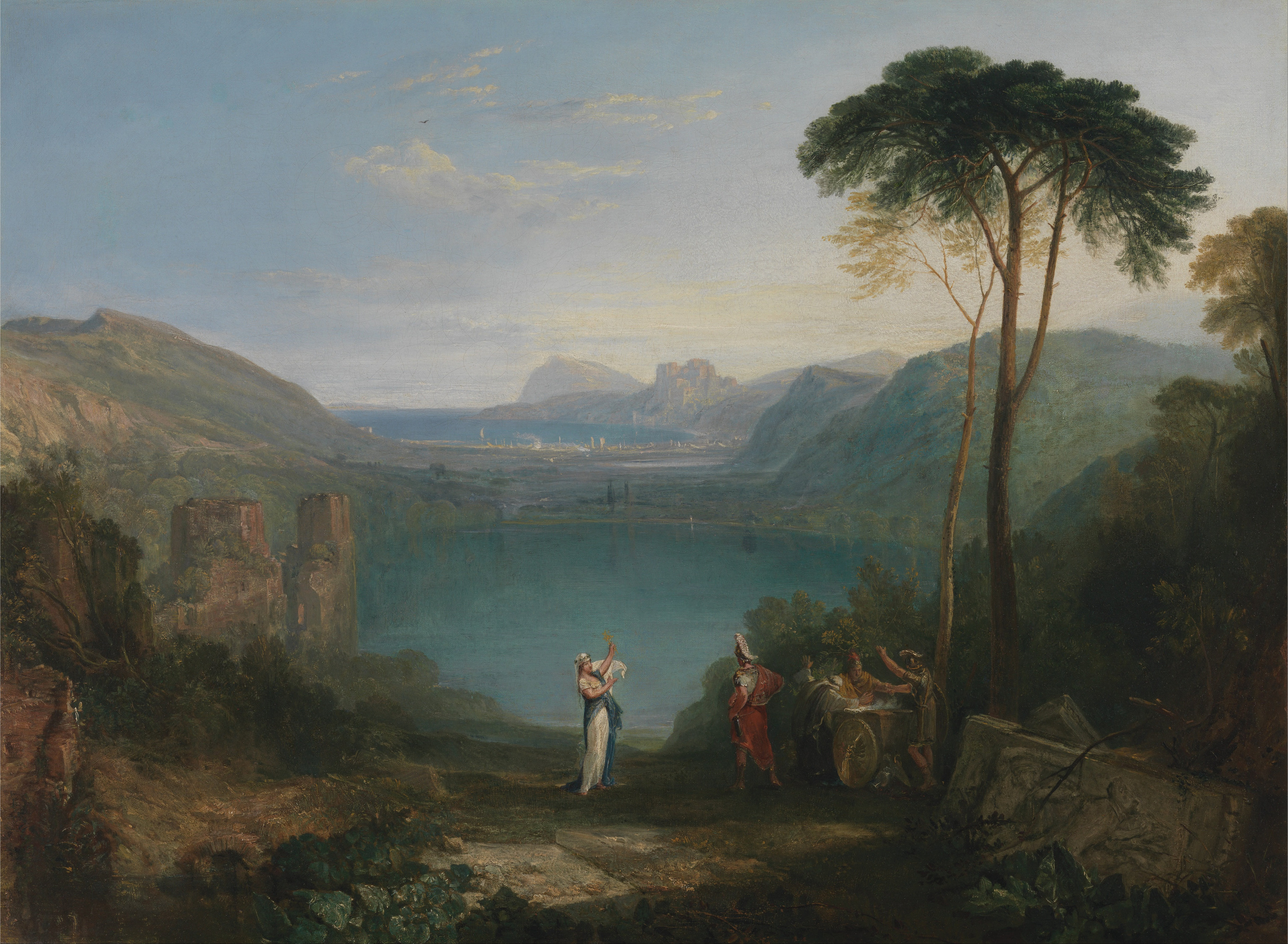 Lake Avernus by Turner