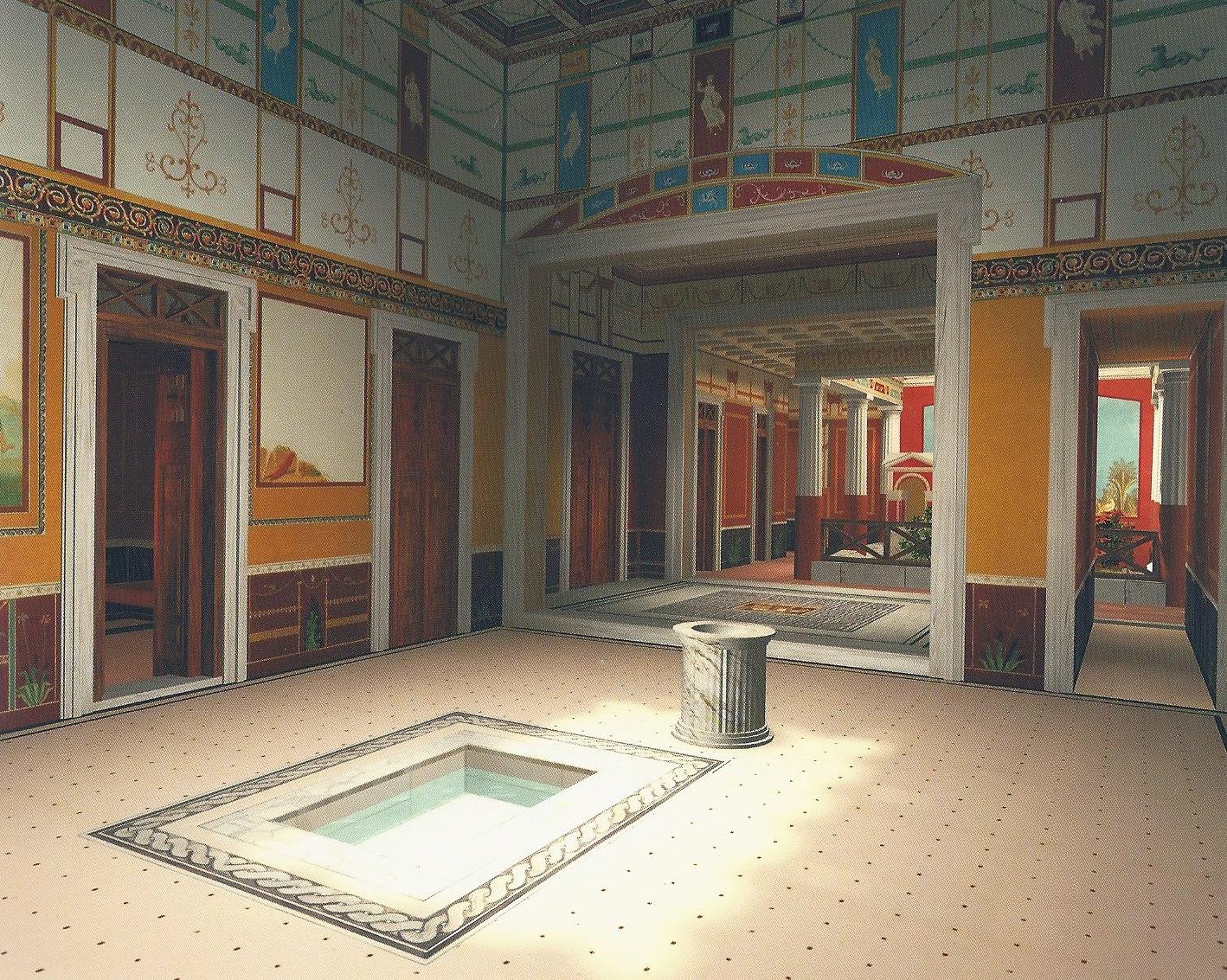 Atrium of Domus Romana