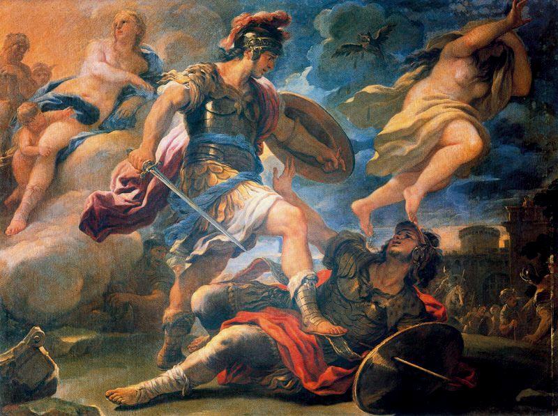 Aeneas Kills Turnus