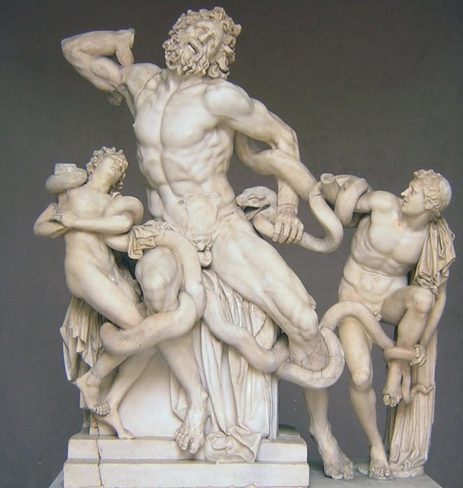 Laocoon, sons and sneaky snakes