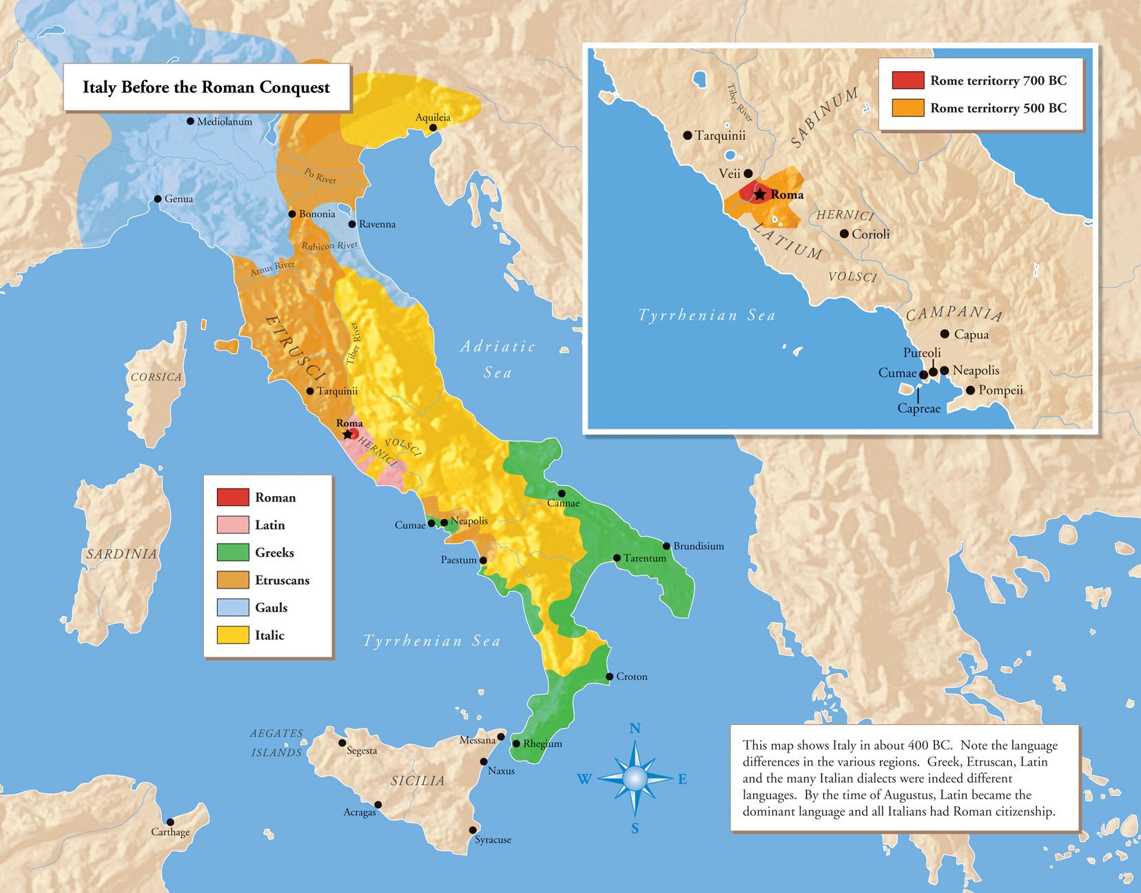Map Italian Peninsula before Roman expansion peoples of italy .jpg