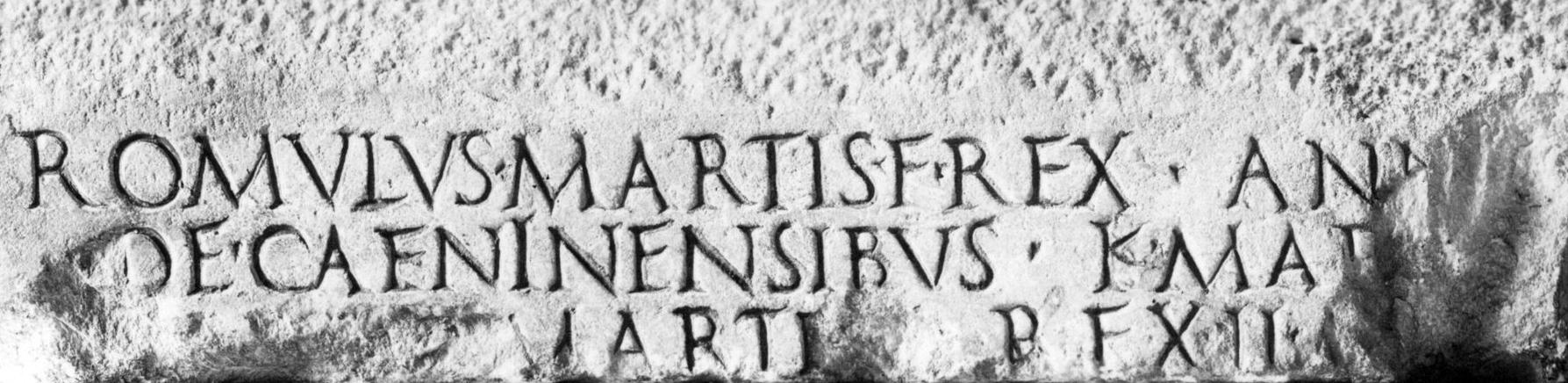 Fasti Triumphales Romulus F martis CIL 1(2) 1, p. 43 (I).jpg