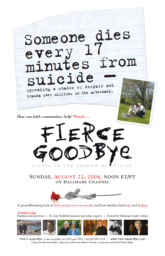 fierce goodbye poster