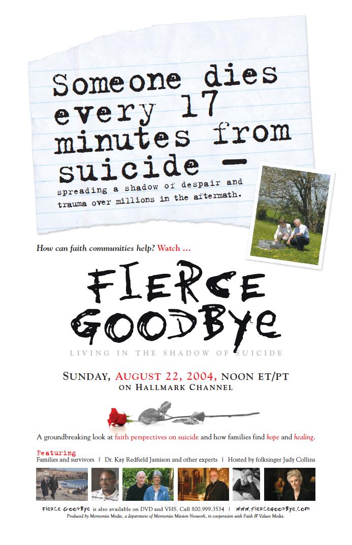fierce goodbye poster