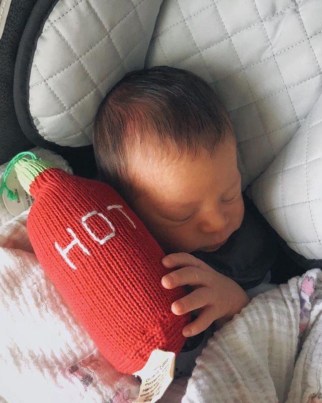 Bb first sriracha bottle. #supnephew