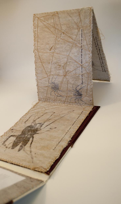 handmade book arts jenna cornell screwtape bestiary