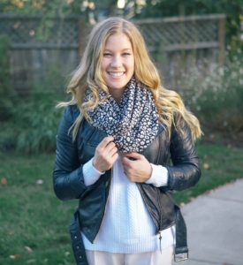 Vogue in Vines  featuring my  Leopard Print Luxury Circle scarf !