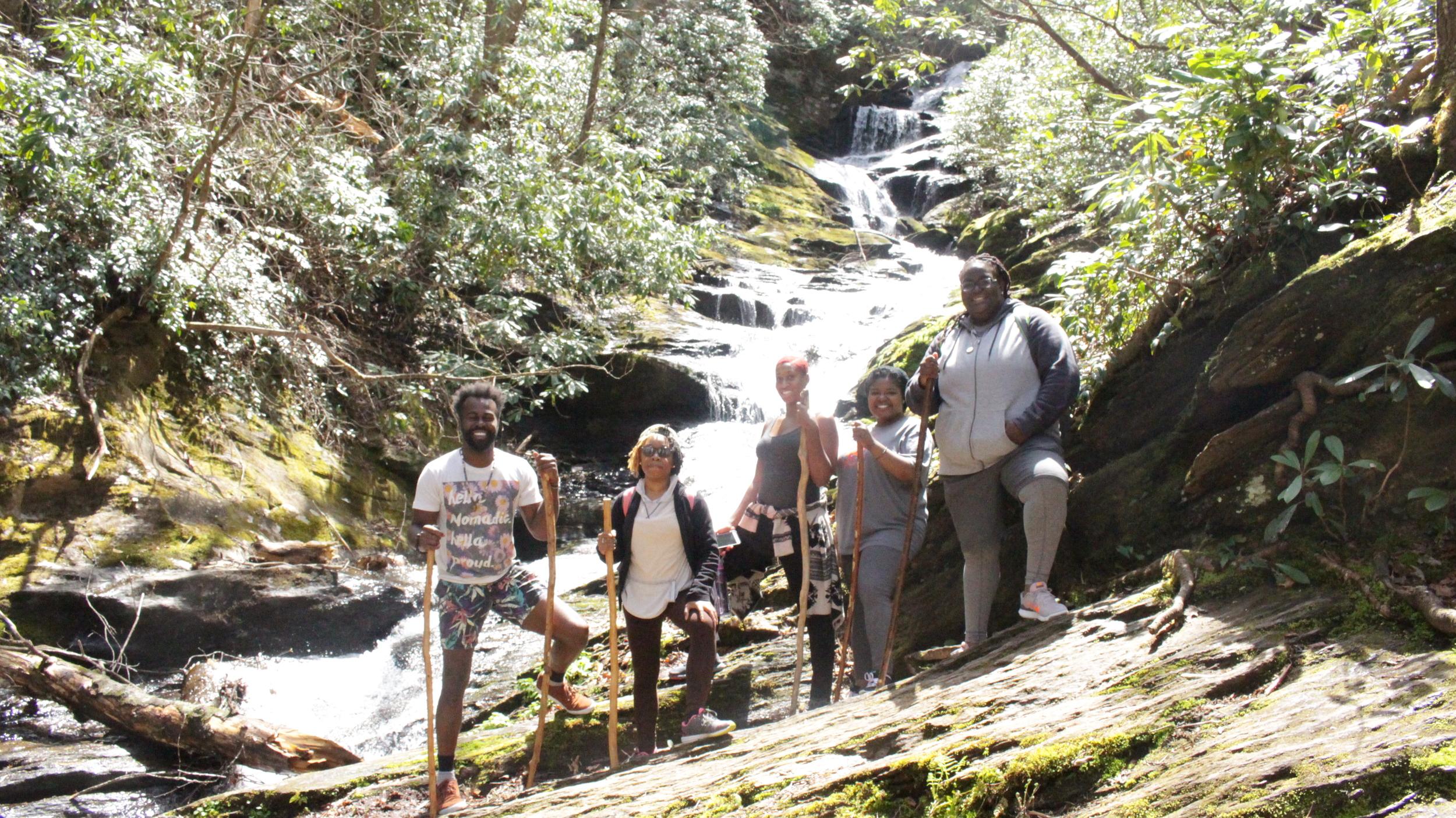 Roaring Falls - Burnsville, North Carolina - Nature Healing Retreat