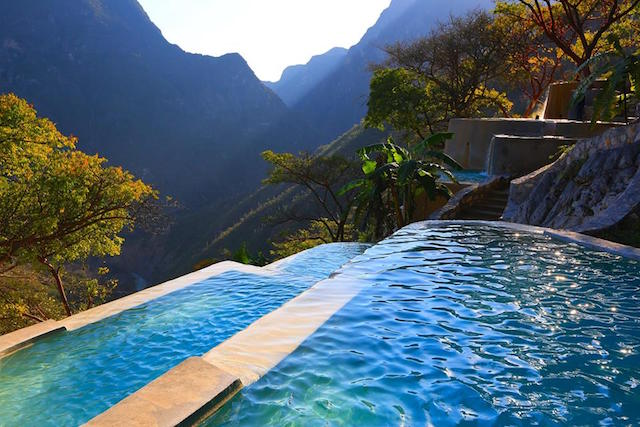 This is the views you'll have here at Tolantongo. Why would you miss this retreat?
