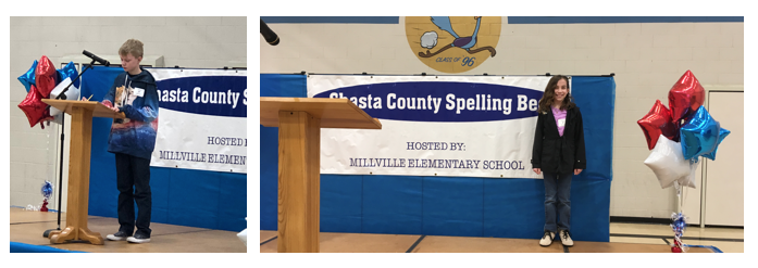 Congratulations   - to our Shasta County Spelling Bee participants!