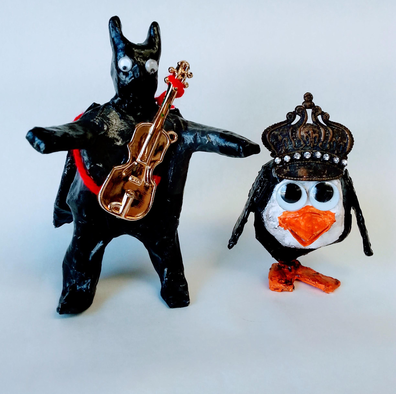 Luis Carillo_ 3D_Fatman and Penguin_2018.jpg