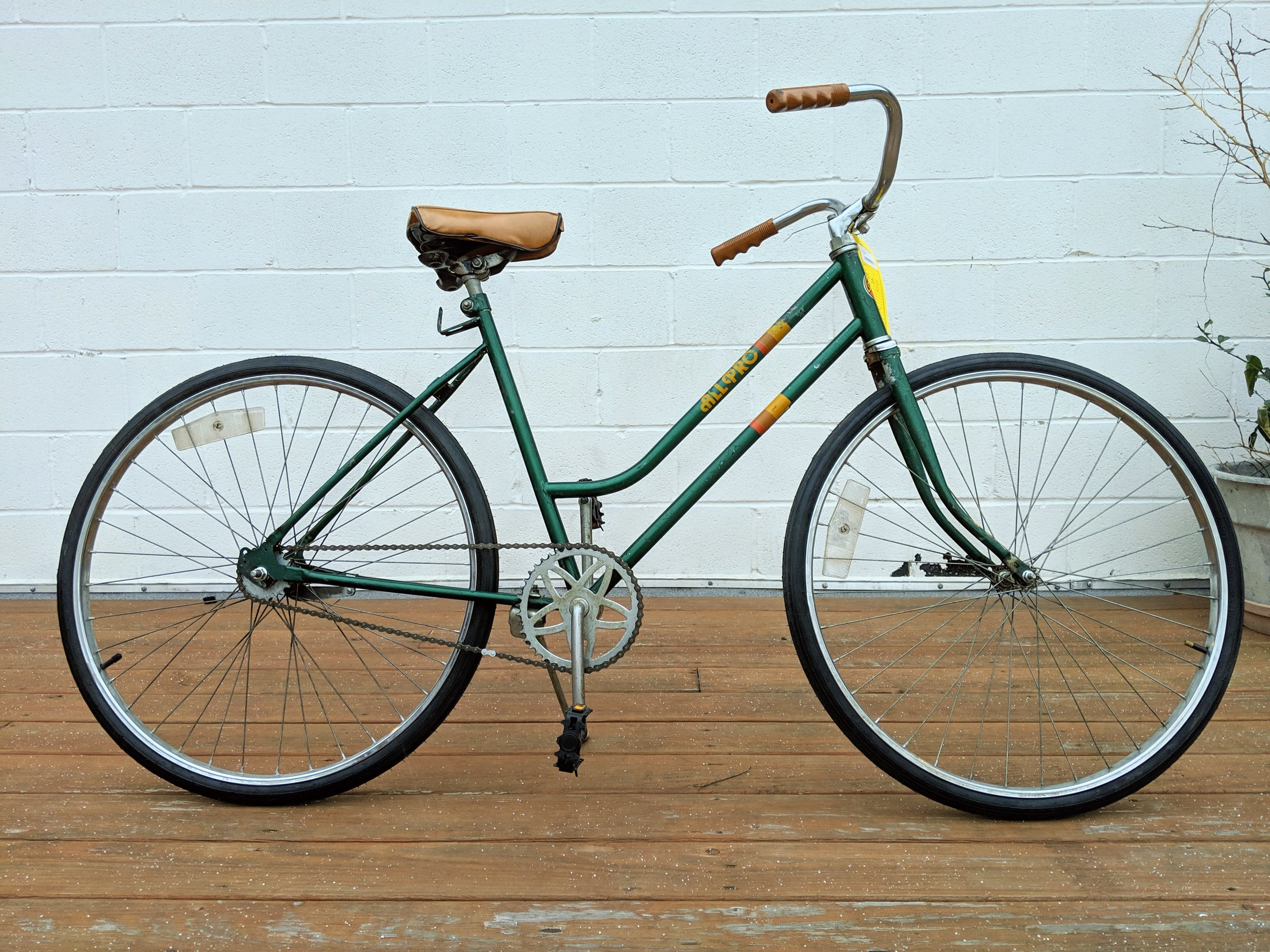 50cm Green All Pro Single Speed $170