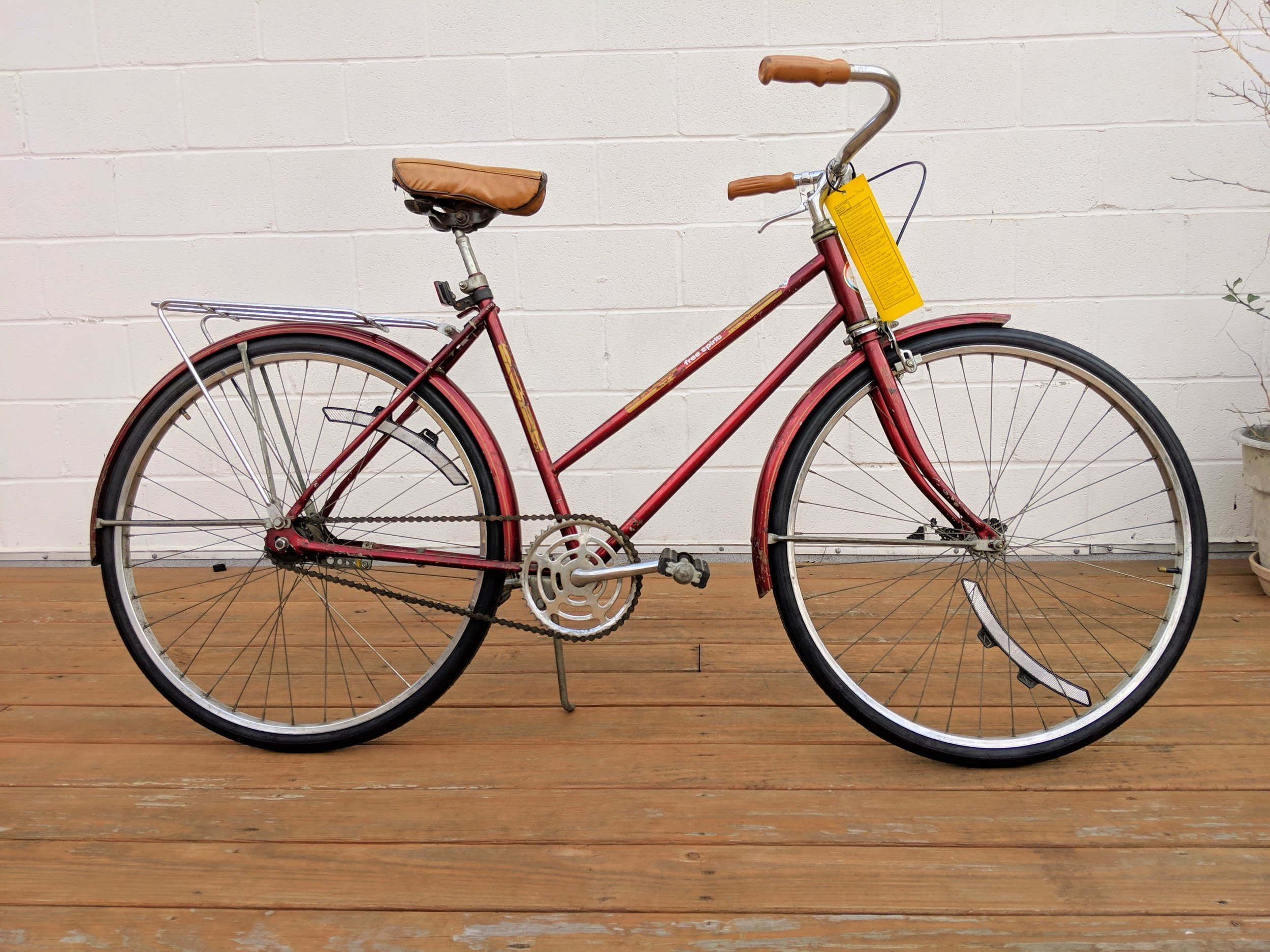 50cm Red Free Spirit Cruiser $200