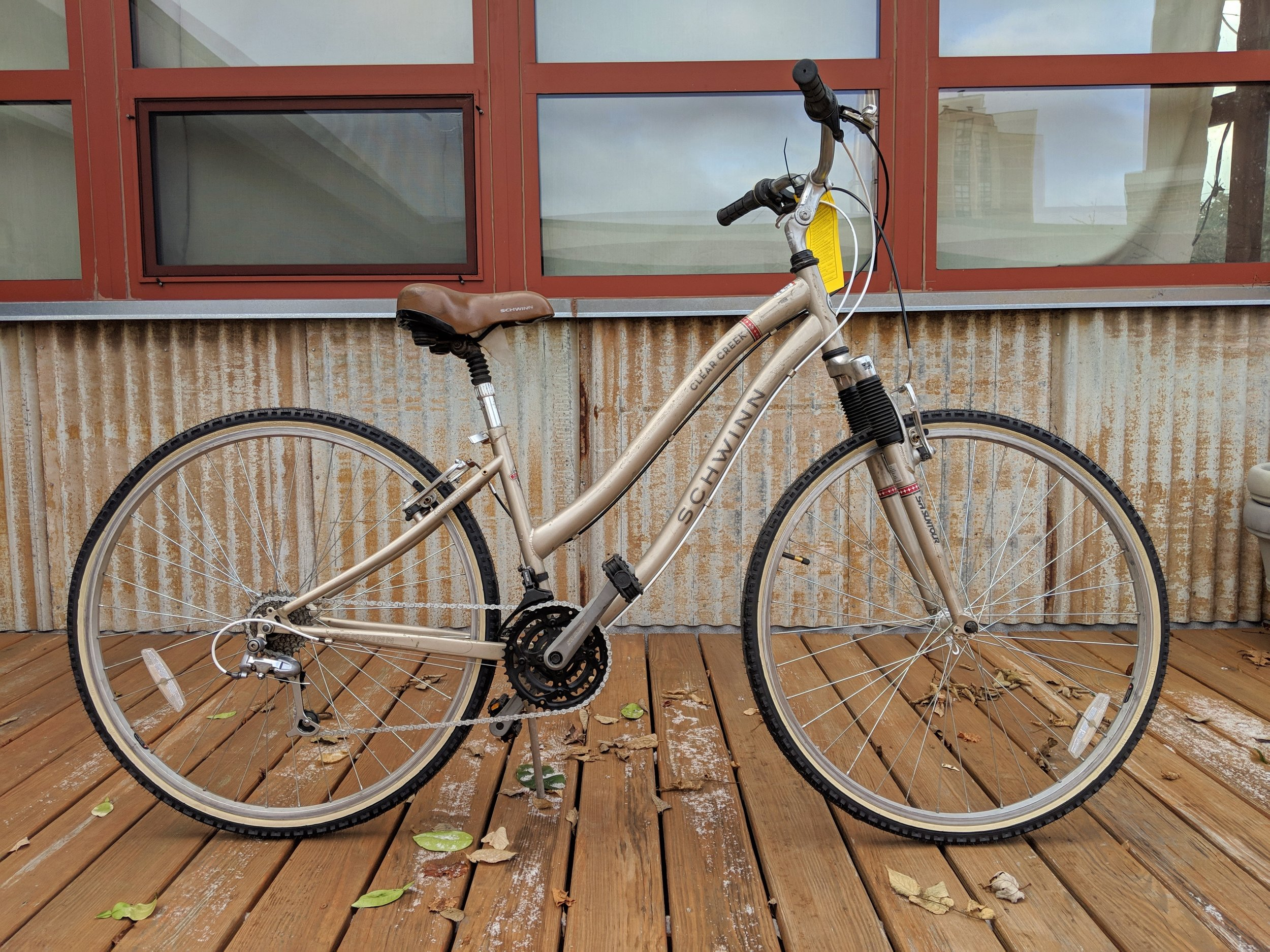 "15"" Tan Schwinn Clear Creek $280"