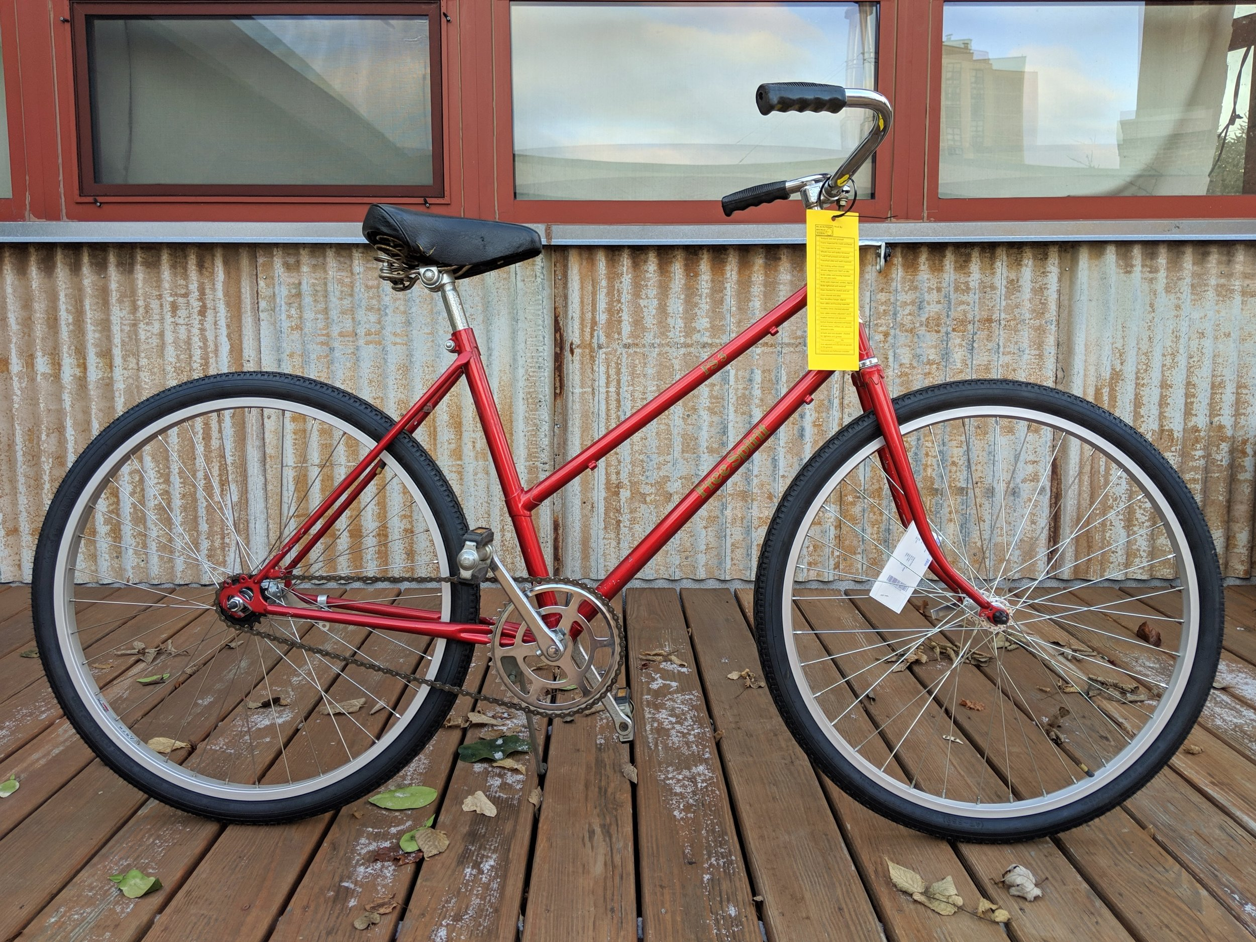 46cm Red Free Spirit Cruiser $225