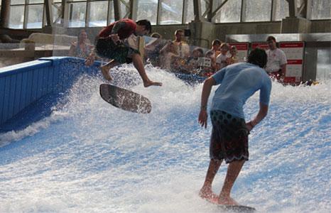 Surfing experience at Jay Peak Resort in Jay, VT