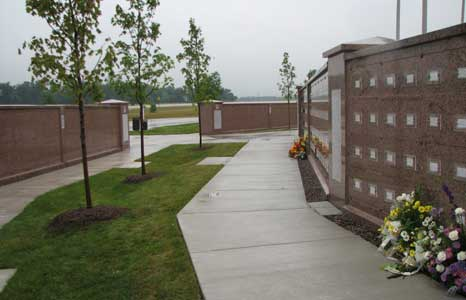 The Southern Wisconsin Veteran's Memorial Cemetery in Union Grove, WI