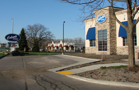 Outside view of Culver's in Middleton, WI