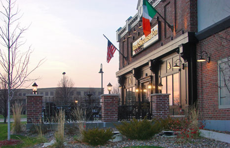 Outside view of Erin's Snug Irish Pub in Madison, Wi
