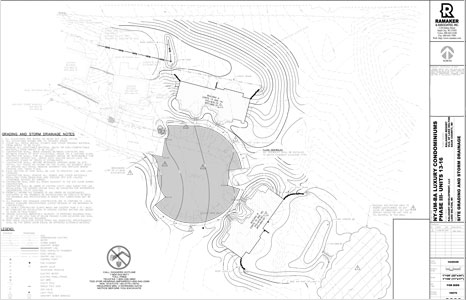 Drawing map of Ny-Um-Ba Condominiums at the Kalahari Resort in Lake Delton, WI