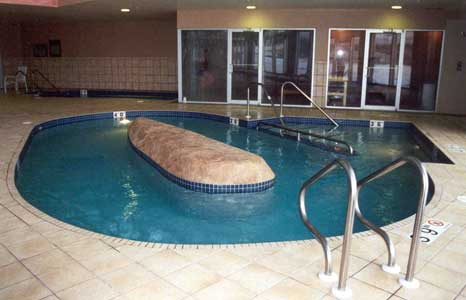 Physical therapy pool at the Princeton Club West in Madison, WI