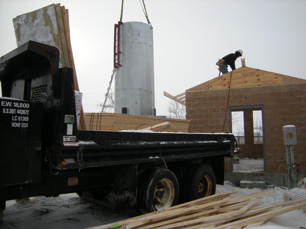 Construction of equipment shelter