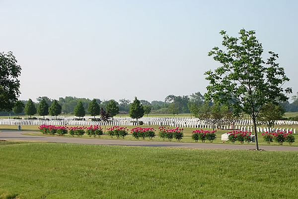 Southern Wisconsin Veterans Memorial Cemetery burial grounds