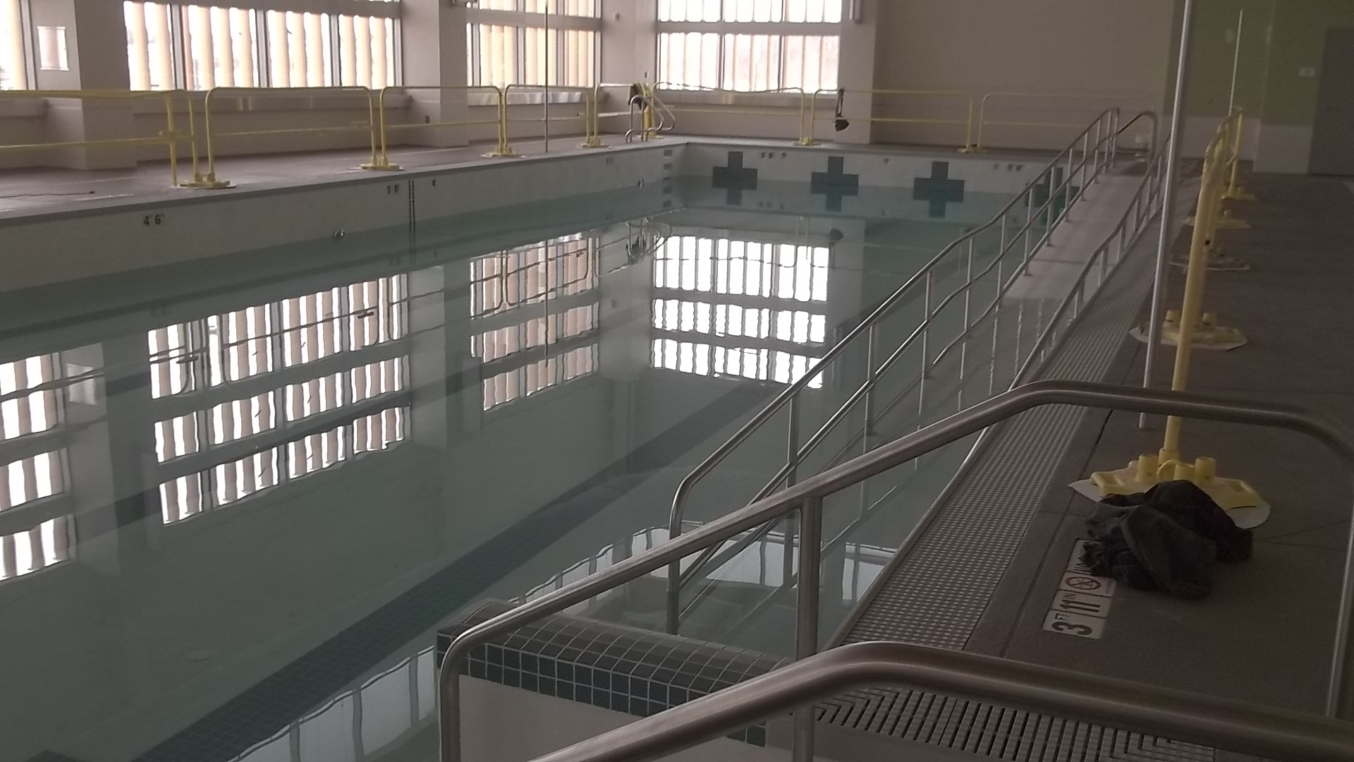 Indoor pool area at the ADA Compliance for Pools