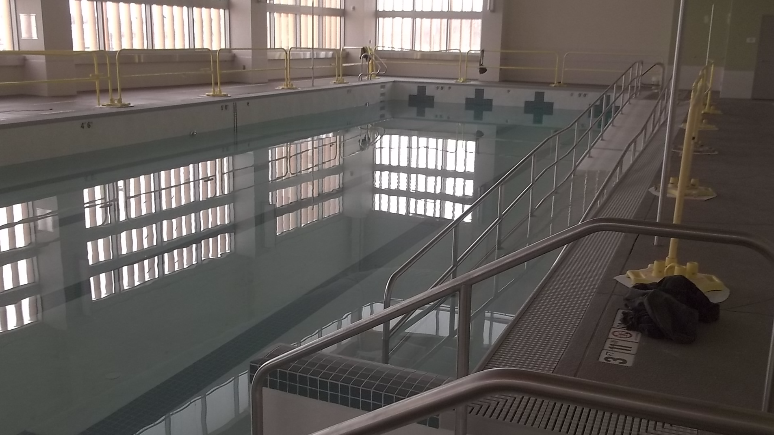 Physical therapy pool at UW Health at the American Center in Madison, WI