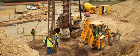 Geotechnical engineering example