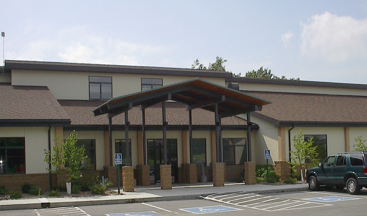 Outside view of an office/commercial example