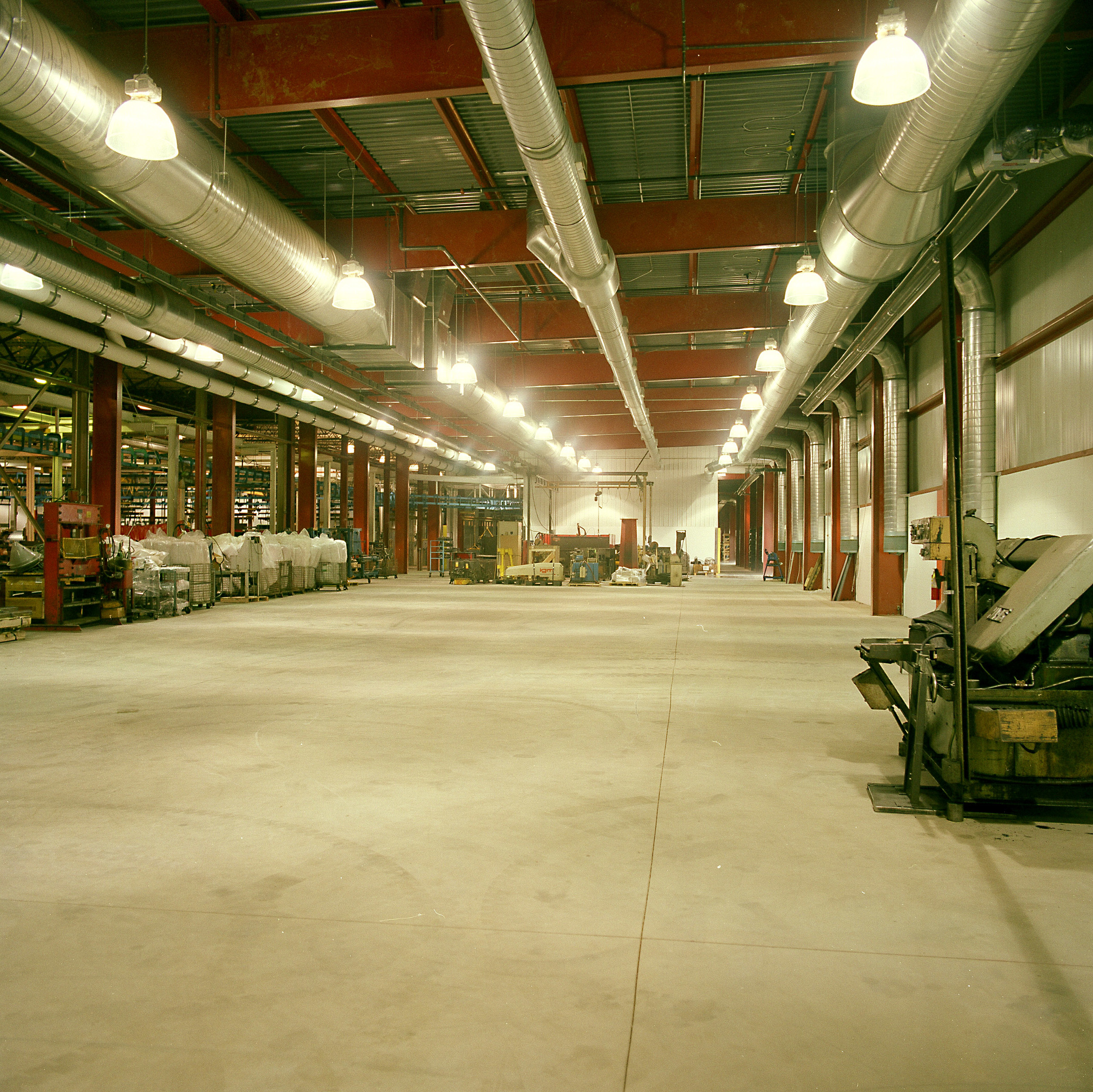 Inside view of an industrial/ municipal example