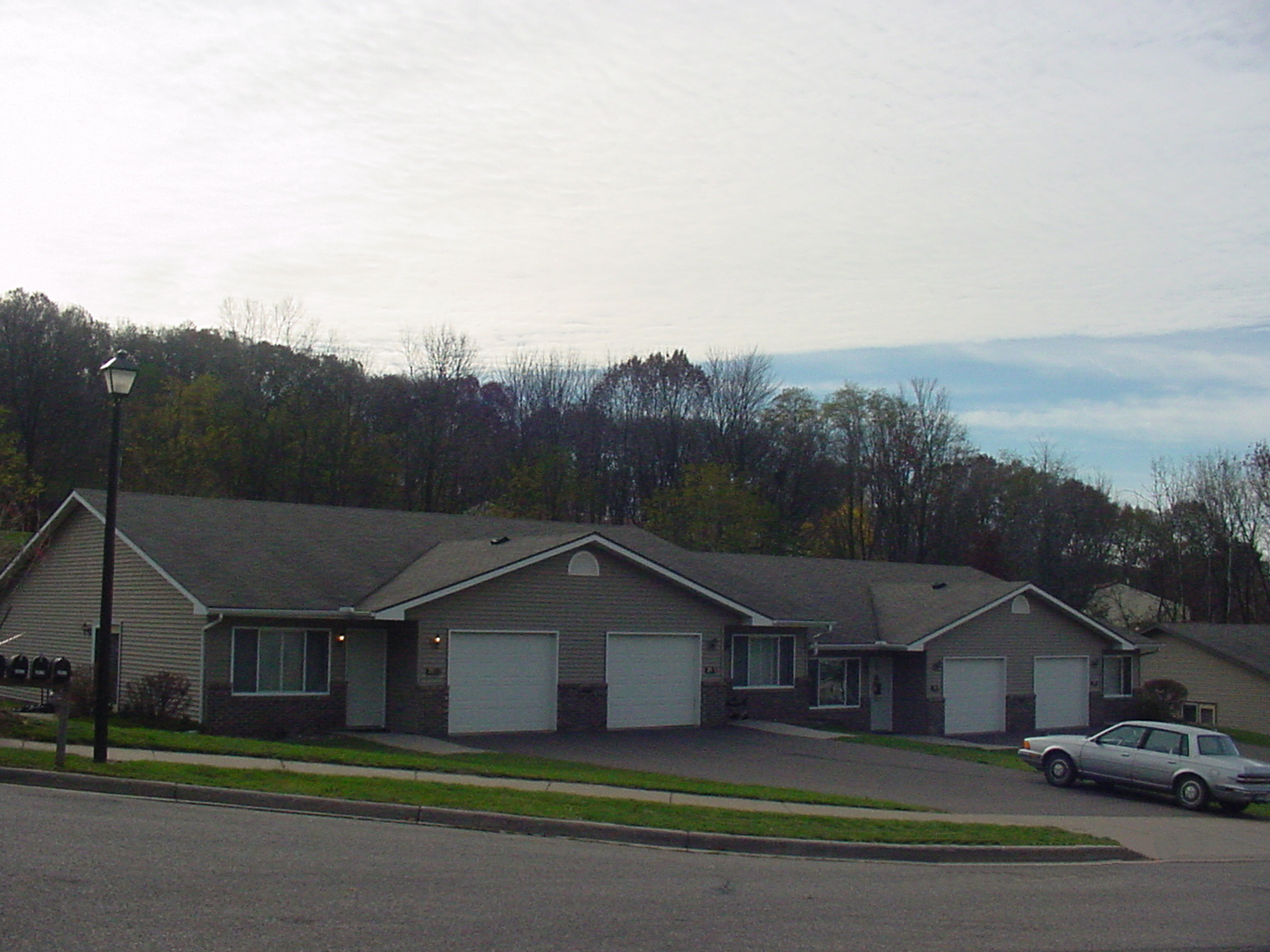 Outside view of a housing complex